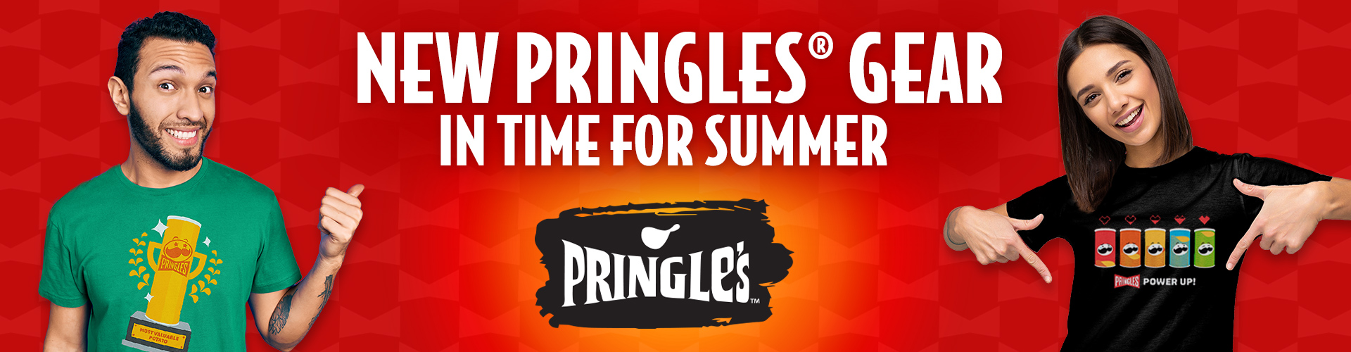 New Pringles® Gear in Time for Summer